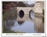 Moat at Leeds Castle by UniverseGrrl