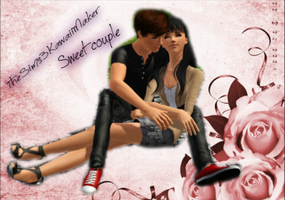 sweet couple by TheSims3KawaiiMaker