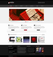 Endux - Psd Template by ICEwaveGfx