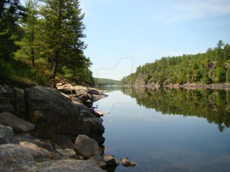 French River by Greyle13