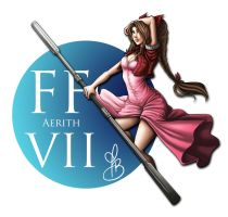 Aerith FF7 by Weirdream13