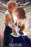 COMM_Tidus x Yuna for Alanna by kura-ou