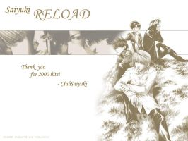 Thanks for 2000 Hits:Wallpaper by ClubSaiyuki