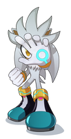 Silver the Hedgehog by mav845