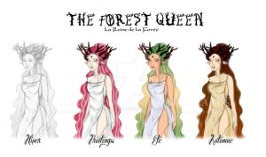 Forest Queen - Seasons Design by MaeDreaM