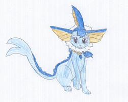 Rain the Vaporeon by KendraTheShinyEevee