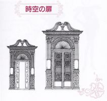 Materials Collection Space-Time Door - Scan by ChibiRikku