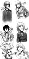 Request Sketches by masayo11