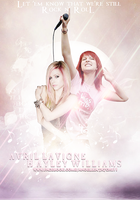 Avril Lavigne x Hayley Williams by ExoticGeneration21