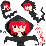 new OC kara the reaper by ask-kytothehero