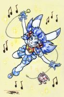 Magic Bunny Tobu by joeartguy
