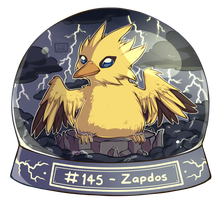 145 - Zapdos by oddsocket