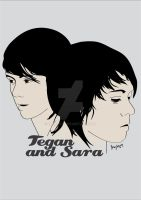 Tegan and Sara by iamfeby