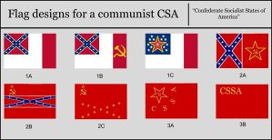 Flags of Communist CSA by AlternateHistory