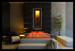 one of my bed room design by Neellss