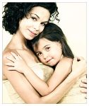 Mother and daughter by sandramesrine