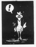 Exclamatory Chicken Proof by ursulav