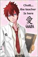Gaara As a techer by Matsu-sama