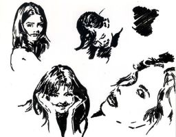 Small Faces' sketches by hardcorish