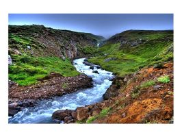 Iceland XIV - R is for River by Whippeh