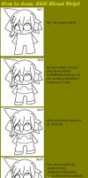 How to draw chibi Cloud part 3 by Manah-Angel-Eyes