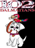 102 Dalmatians 2D poster by Dulcechica19