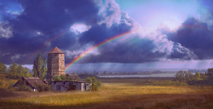 Double rainbow_matte by inSOLense