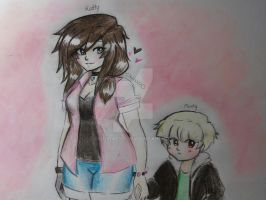 Katty and Monty by Squira130