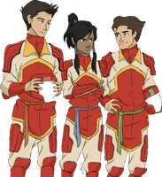 LoK: Fire Ferrets by StarbuckViper