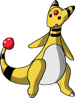 Brothers Team No. 1 - Ampharos by b24beanz