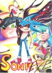 Comic cover for Mephonic1's Sonic EXE by Specter1997