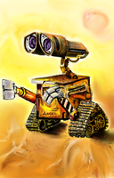 Angie's Wall-E by angieluvsyou