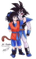 Turles and Ai by hirokada