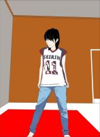 girl with Seirin jersey by restu-go