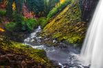 Tamanawas Falls, Autumn Study by greglief