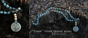 Epona Prayer Beads by Lindowyn
