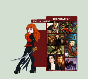 Character Inspiration: Valeria