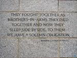 WWII Memorial Quote by RichGinter