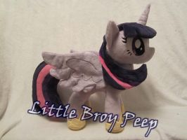 MLP Twilight sparkle Alicorn Plushie (commission) by Little-Broy-Peep