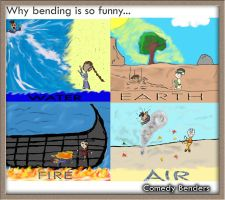Why bending is funny by pinksy456