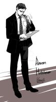 Criminal Minds - Aaron Hotchner by krings2