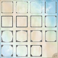 Set of avatar templates by Morfuska