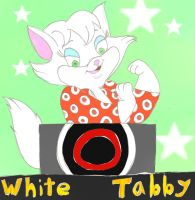 White Tabby in Hollywood Squares by ThrillingRaccoon