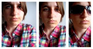 Self-Portrait: Plaid is Rad by skittles-and-combos