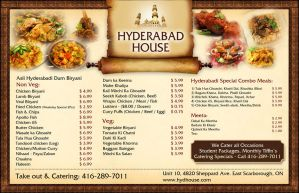 Hyderabad House Restaurant ad by aa3