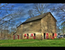 Longspring Farm HDR by Goodbye-kitty975