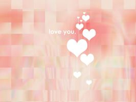 Love you. Wallpaper by realmofheaven