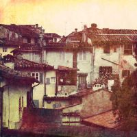 Rooftops in Florence by Camaryn