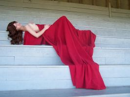 Eli In Red - Godess - 24 by Gracies-Stock