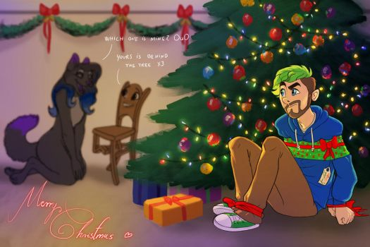 You know, i just kidnapped a present for you -OuO by Leda456